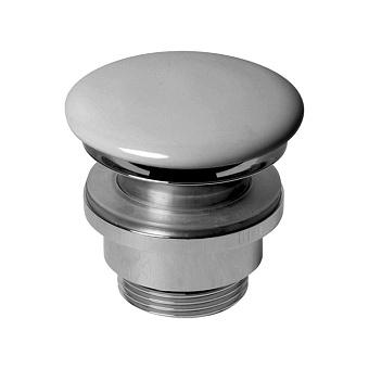 AZZURRA Донный клапан для раковины, с крышкой керамической, цвет: cottone