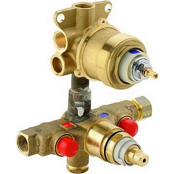CISAL Встраиваемая часть термостатического смесителя с переключателем на 3 положения, ZA01850104
