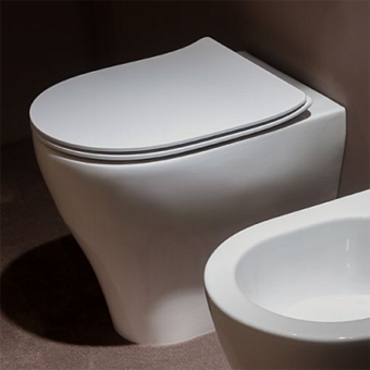 Flaminia APP Унитаз приставной 52x36xh46см, с системой goclean®, цвет: белый глянцевый