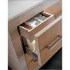 Karol Xil comp. №9, комплект напольной мебели 142 см. цвет: Rovere Sbiancato + Cuoio Naturale