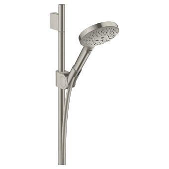 Axor Uno² Душевой гарнитур, с ручным душем, штангом и держаель для душа, цвет: сталь