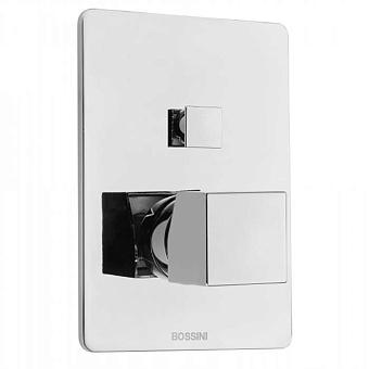 Bossini Cube Смеситель для душа, встраиваемый, 2 выхода , цвет: хром