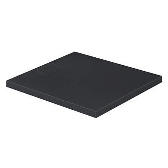 Duravit  Stonetto Поддон композитный  прямоугольный  900x800х50mm, d90, цвет Антрацит