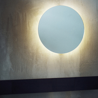 Agape Bucatini Круглое зеркало d50x6 см, цвет: полированный