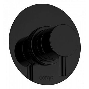 Bongio T Mix Встраиваемый смеситель для душа, цвет: черный матовый