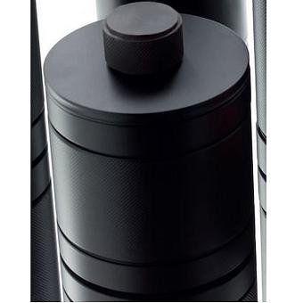 Bertocci Officina 01 Контейнер с крышкой, настольный, цвет: черный матовый