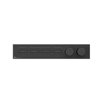 Gessi Hi-Fi Термостат для душа, с включением до 4 источников одновременно, цвет: Black Metal Brushed PVD
