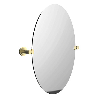Cristal et Bronze Alliance Зеркало 42x60см, поворотное овальное, цвет золото