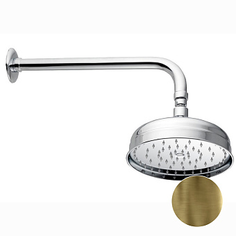 Nicolazzi Doccia Верхний душ, Ø 20см, цвет: бронза