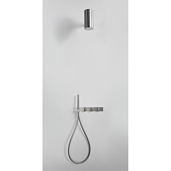 Agape Al dente Шланг, длина 150см, цвет: серый