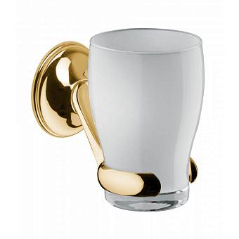 Стакан подвесной Bongio Fleur, цвет: золото 24к.
