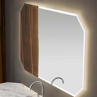 VITAGE milldue edition Зеркало CRYSTAL 108х88см, со светодиодной подсветкой