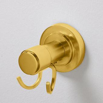 Cristal et Bronze Alliance Крючок двойной, цвет: золото