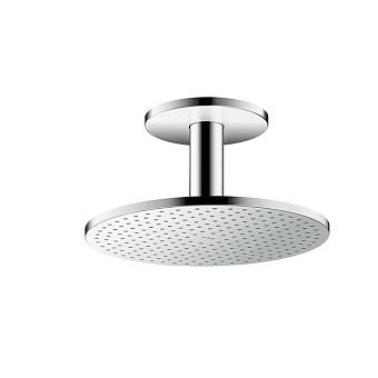 Axor ShowerSolution Верхний душ, Ø 300мм, 1jet, с держателем 100мм, потолочный монтаж, цвет: хром