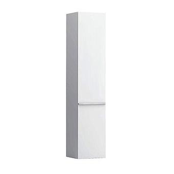 Laufen Case Шкаф подвесной, 35х33.5х165см, с 1 дверцей, DX, 4 стеклянные полки, цвет: белый глянцевый