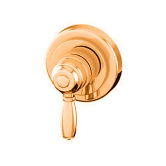 """Petracers Aquadolce, Встраиваемый однорычажный кран 1/2"""" для душа, цвет: бронза"""
