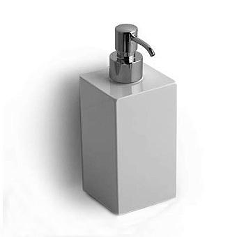 Bertocci Settecento Дозатор подвесной, цвет: белый матовый композит/хром