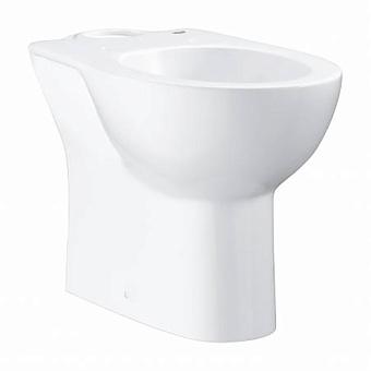 Grohe Bau Ceramic Унитаз 69x36 см, напольный, слив в стену, цвет: белый
