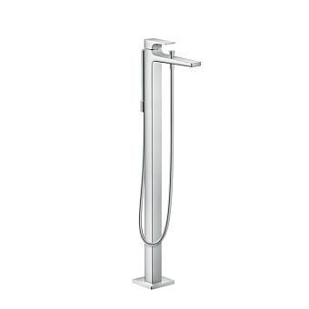 Hansgrohe Metris Смеситель для ванны, однорычажный, напольный, цвет: хром