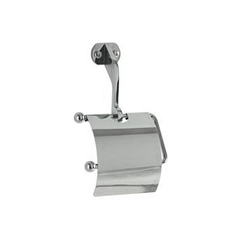 Kerasan Waldorf Держатель туалетной бумаги с крышкой, подвесной, цвет: хром