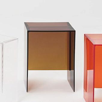 Laufen Kartell Табурет, 330х280х465мм, пластик, цвет: янтарь