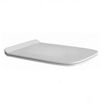 Artceram A16   Сиденье для унитаза с микролифтом ,  цвет белый, шарниры хром