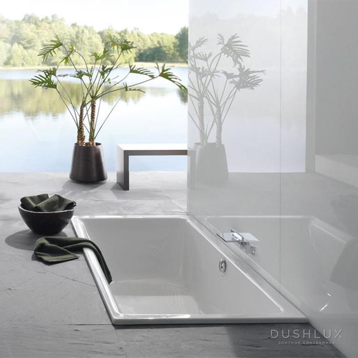 Bette Free Ванна встраиваемая 190х90х45 см, с шумоизоляцией, BetteGlasur® Plus, цвет: белый