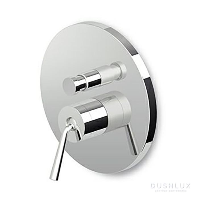 Zucchetti IsyFresh Термостатический смеситель с запорным клапаном 1/2, цвет: хром