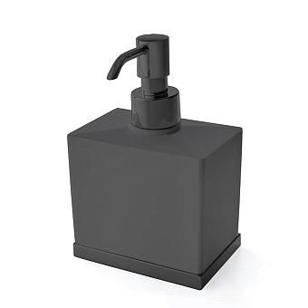 3SC Mood Deluxe Дозатор настольный, композит Solid Surface, цвет: чёрный матовый/черный матовый