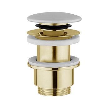 Noken NK Донный клапан без перелива, цвет: золото