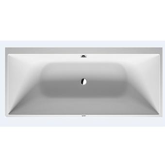 Duravit DuraSquare Ванна 1800x800 мм, пристенный вариант, с ножками и панелью, цвет белый