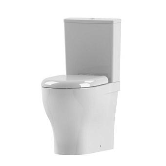 AZZURRA Pratica Унитаз моноблок 62,5x34,5xh80,5 см с бачком и сиденьем, цвет: белый