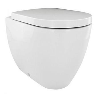 Noken Arquitect Унитаз приставной, размер 55х36.5см, цвет: белый