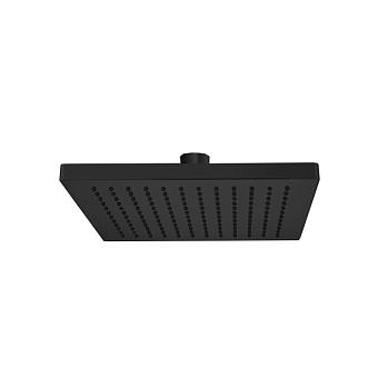 Webert Comfort Верхний душ диаметр 250 мм, латунь, цвет: черный
