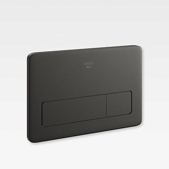 Armani Roca Baia Клавиша двойного смыва 3/6 л для системы инсталляции Duplo (арт. 890090400), цвет: черный