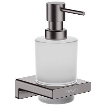 Hansgrohe AddStoris Диспенсер для жидкого мыла, цвет: шлифованный черный хром