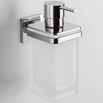 Colombo Basic Basic Дозатор для жидкого мыла настенный, хром/стекло