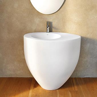 Cielo Le Giare Раковина напольная 88×63×83h см, пристенная, цвет: глянцевый белый