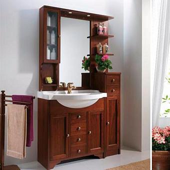 EBAN Eleonora Modular Комплект мебели 107 см (пенал справа), цвет noce