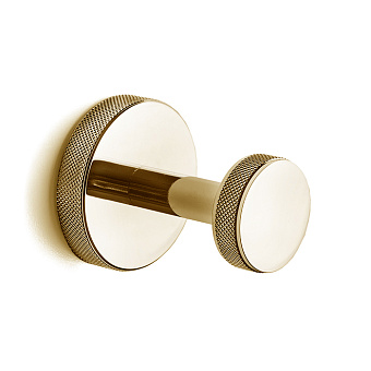 3SC Ribbon Крючок одинарный, цвет: золото 24к. Lucido