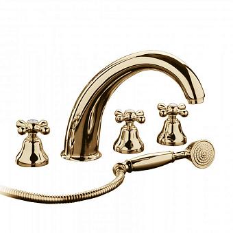 Bongio Axel, Смеситель для ванны, цвет: золото