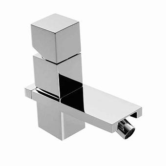 """Bossini Cube Смеситель для биде на 1 отв., с заглушкой 1""""1/4, цвет: хром"""
