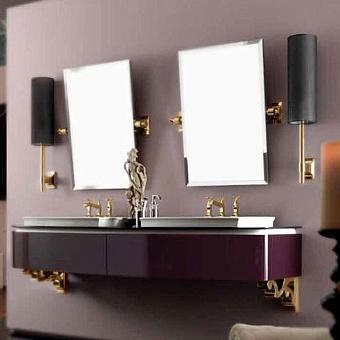 Karol Bania comp. №4, комплект подвесной мебели 200 см. цвет: Berenjena фурнитура: золото
