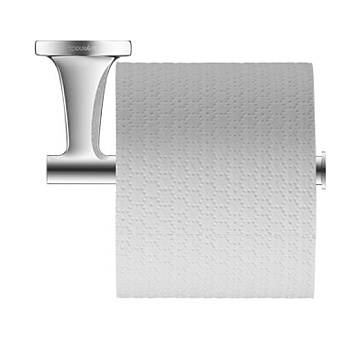 Duravit Starck T Держатель туалетной бумаги, подвесной, цвет: хром