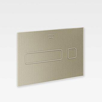 Armani Roca Baia Панель смыва электронная 25.78х0.4х16.78см, цвет: greige