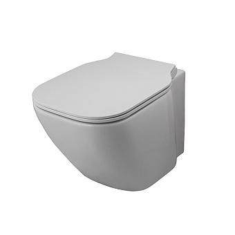 Noken Essence C Compact Унитаз подвесной, безободковый, с креплениями, цвет: белый