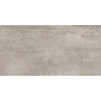 Lea Ceramiche Concreto Керамогранит 60x120x0.6см, универсальный, неглазурованный, декор drops gold, цвет: light/противоскользящая