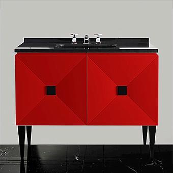 Devon&Devon Jetset 2, Комплект мебели, Цвет: red