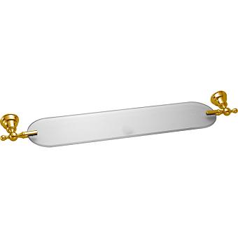 CISAL Arcana Полочка стелянная 60см, подвесная, цвет золото