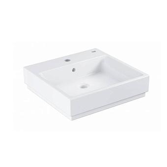 Grohe Cube Раковина 50 см, 1 отв., накладная, цвет: белый
